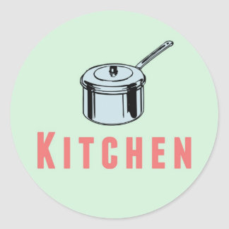 Moving Box Sticker Label Kitchen