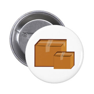 Moving Boxes Pinback Button
