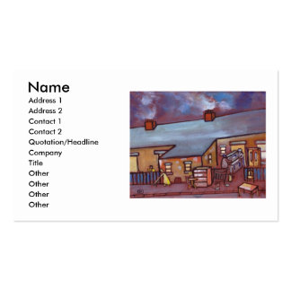 Moving Day Double-Sided Standard Business Cards (Pack Of 100)