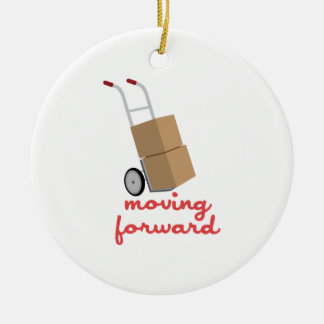 Moving Forward Christmas Ornament