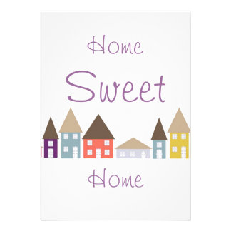Moving Home House warming Party Invitations