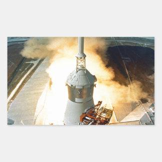 moving to success Apollo eleven 11 Launch Stickers