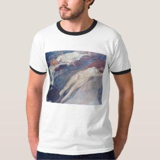 Moving Water By Klimt Gustav T-Shirt