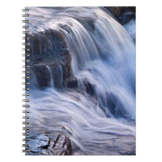 Moving water - waterfall detail notebook