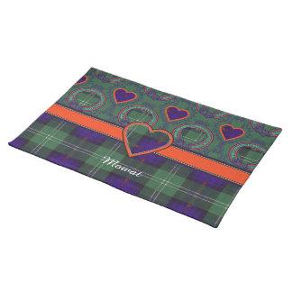 Mowat clan Plaid Scottish kilt tartan Placemats