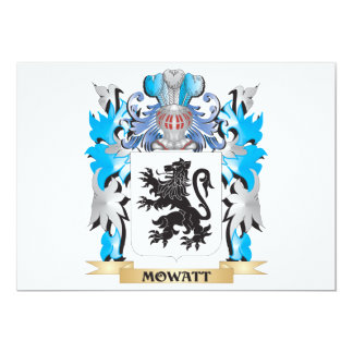 Mowatt Coat of Arms - Family Crest Card