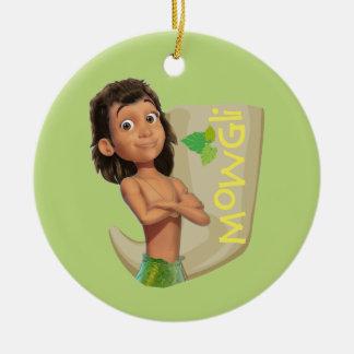 Mowgli 1 christmas ornament