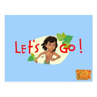Mowgli 2 postcard