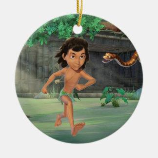Mowgli 3 christmas ornament