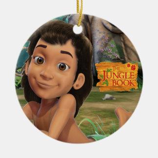 Mowgli 4 christmas ornament