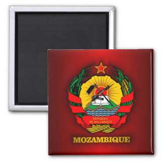 Mozambique COA Square Magnet