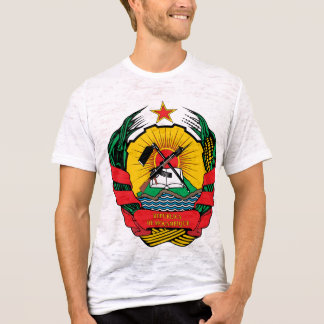 Mozambique Coat of Arms detail T-Shirt