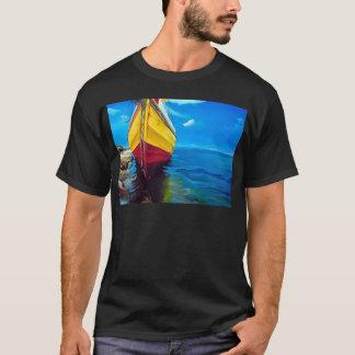 Mozambique dhow boat paradise T-Shirt