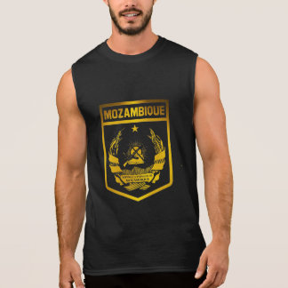 Mozambique Emblem Sleeveless Shirt