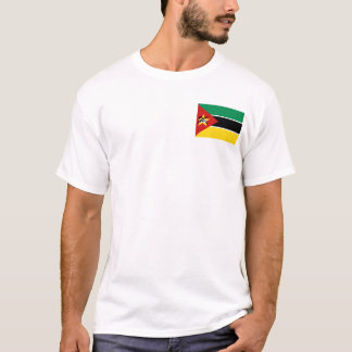 Mozambique Flag and Map T-Shirt