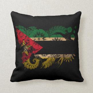 Mozambique Flag Cushion