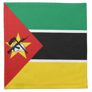 Mozambique Flag Napkin