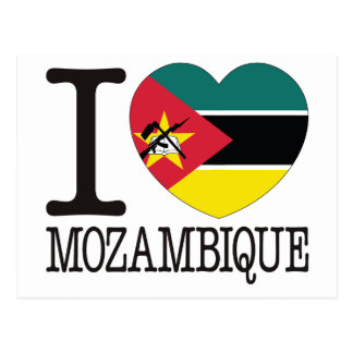 Mozambique Love v2 Postcard