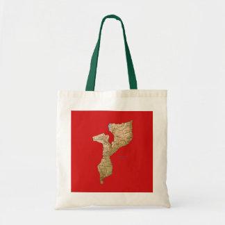 Mozambique Map Bag