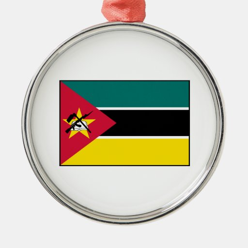 Mozambique – Mozambican Flag Christmas Ornament