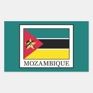 Mozambique Rectangular Sticker
