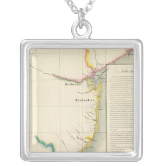 Mozambique, South Africa 52 Silver Plated Necklace