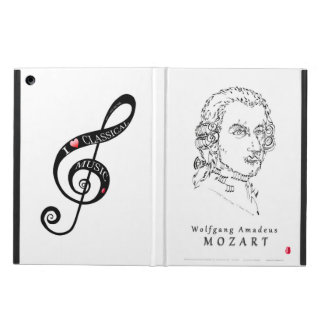 Mozart Face the Music iPad Air Cover