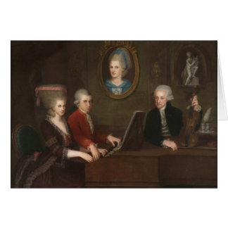 Mozart Family Portrait Greeting Card