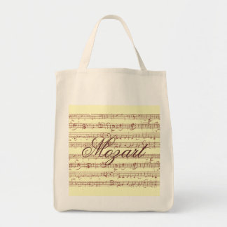 Mozart Gavotte - Grocery Tote Tote Bags