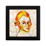 Mozart Portrait One Jewelry Box
