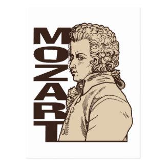Mozart Postcard