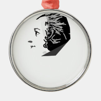 mozart Silver-Colored round decoration