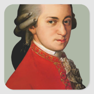 mozART Square Sticker