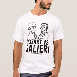 Mozart VS. Salieri T-Shirt