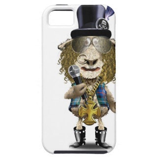 Mozz Mutton a Heavy Metal rock SHEEP Tough iPhone 5 Case