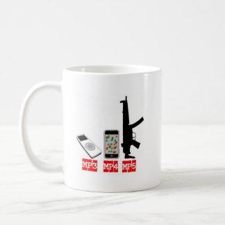 MP3 MP4 MP5 COFFEE MUG