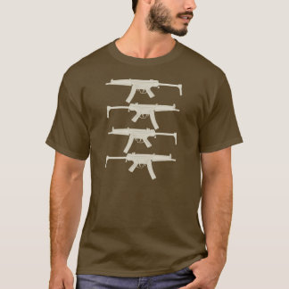 MP5 = Split Melons - Tan Graphics T-Shirt