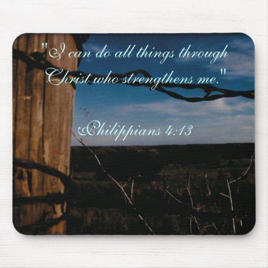 MP - Philippians 4:13 Mouse Pad