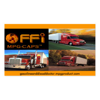 MPG CAP PRODUCT CARD - Customized Business Cards