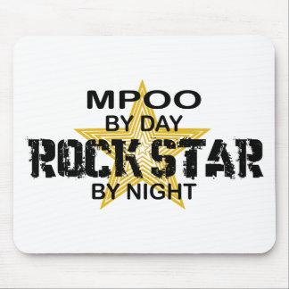MPOO Rock Star by Night Mousepad