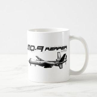 MQ-9 Reaper Basic White Mug
