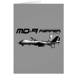 MQ-9 Reaper Greeting Card