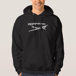 MQ-9 Reaper Men's Basic Hooded Sweatshirt