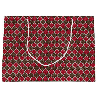 MQF Sequins-Chocolate-Cherry-GIFT BAG L