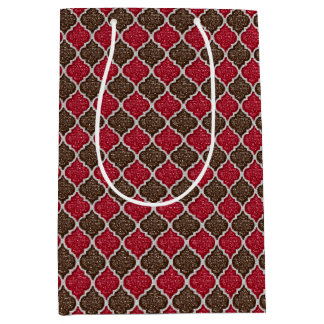 MQF Sequins-Chocolate-Cherry-GIFT BAG M