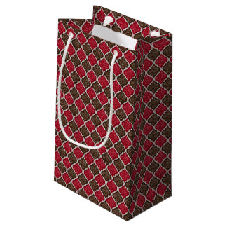 MQF Sequins-Chocolate-Cherry-GIFT BAG S