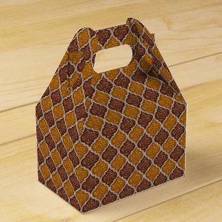 MQF-Sequins-Copper Drk-Gold-Silver-Gable Favor Box Wedding Favour Boxes