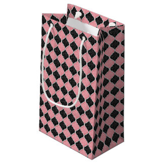MQF Sequins-DUSTY PINK-BLACK-WHITE-GIFT BAG S