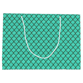 MQF Sequins-Mint-Chocolate-GIFT BAG L