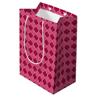 MQF Sequins-Pink-Magenta-GIFT BAG M